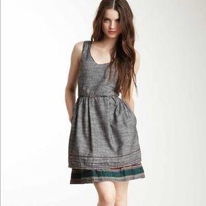 ❄️Freeway woven hemp sleeveless dress